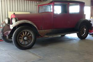 1925 Hudson Super Six Coupe Rare Barn Find