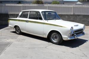 1966 Lotus Cortina MK1 Original California Cortina Photo