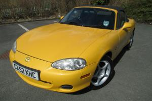 2002 MAZDA MX-5 ARIZONA YELLOW 2 LADY OWNERS FULL SERVICE HISTORY IMACULATE P/X