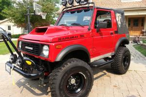 Suzuki Samurai excelletnt condition awesome headturning vehicle!!!!!!!!!!!!!!!!!