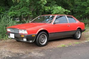 1985 MASERATI BITURBO E, 58,774 Miles, California car. Original Condition es