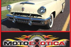 1952 MONTEREY CONVERTIBLE, AUTO, NEW PWR TOP, FRESH REBUILT V8, NO RESERVE!!!