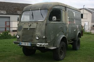Classic Renault Goelette / H Van / Camper / tea , burger van /Military  Photo