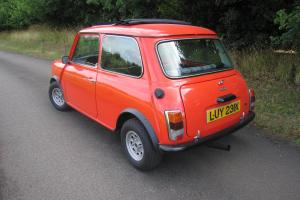 AUSTIN MINI HL 998cc 1982 Pull back sunshine roof Excellent original condition