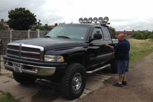 DODGE RAM 4X4 CUMMINS DIESEL FANTASTIC CONDITION HUGE PICK UP TAX AND FULL M.O.T