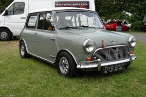 1965 AUSTIN Mk1 MINI COOPER S GREY/WHITE