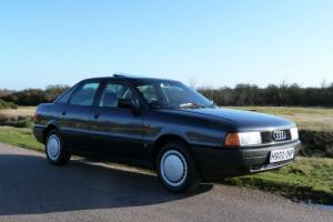 1990(H) Audi 80 1.8S Automatic,1 owner 24000 miles, Pristine example