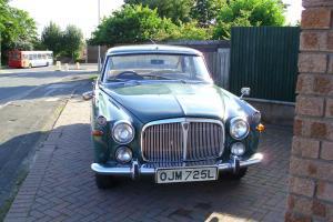 1972 ROVER 3.5 LITRE AUTO GREEN