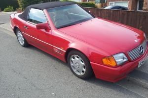 1993 MERCEDES 300SL AUTO RED -- Excellent Condition