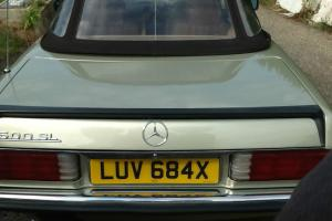Mercedes 500SL 1982 95,000 miles Thistle Green Light Tan Leather Hard/Soft top