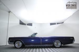 1966 LINCOLN CONTINENTAL CONVERTIBLE! STUNNING CONDITION! FULLY RESTORED!