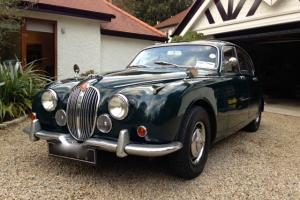 Jaguar 3.4 overdrive saloon manual 1968 mk2