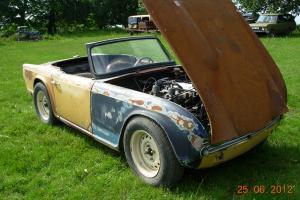 Triumph TR4 TR 4 Classic Car Rust Free US Import