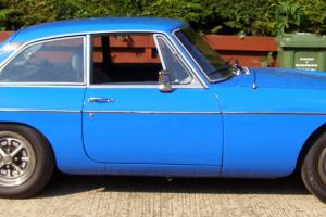 MGB GT Teal Blue with new MOT and tax