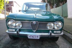 Alfa Romeo Giulia 1600 TI 1964 4D Sedan 5 SP Manual 1 6L Carb in Sydney, NSW