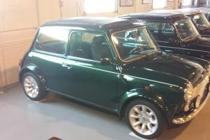 1976 Mini Green Austin, Classic Mini, Imported Mini