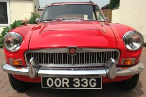 MGC GT 1968, Tartan Red, Manual , Overdrive, Webasto
