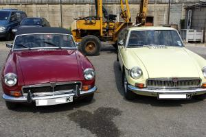 MGB PROJECTS TAX EX, SOLID BODIES, ROADSTER, GT, 2 FOR 1, NEED TIDYING, RUNNING
