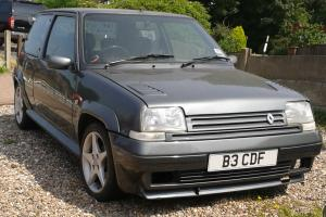 Renault 5 GT Turbo. 11 month Test, Private plate inc, all paperwork.  Photo
