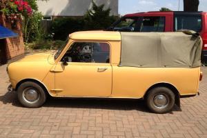 1980 Austin/Morris Mini Pick-Up 95L  Photo
