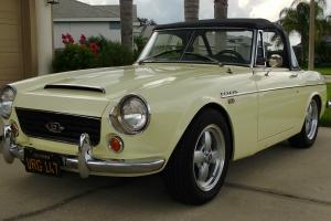 Datsun 1600 Roadster 1967-1/2 Fairlady California Black Plate Car