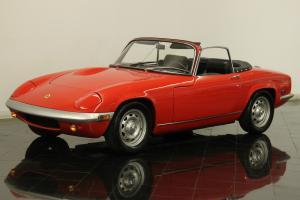 1970 Lotus Elan S4 Roadster Rare Restored 1.6 Liter 4 Cly 4-Speed CD