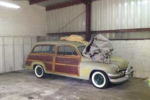 1951 Mercury Woody Complete runs and drives great rod or original