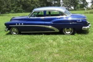 1952 Buick Super Riviera 4 Door Hardtop, Frame Up Restoration, Great Condition!