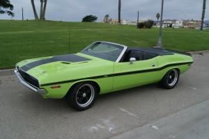 1970 Dodge Challenger R/T Convertible Manual Trans Power Top Restored