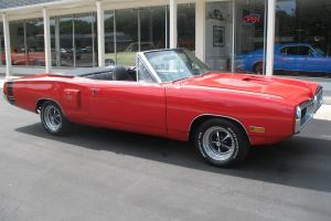 1970 Dodge Coronet Convertible 440 6 pack Recent Restoration