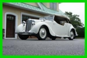 1949 MG Y Type 1 1/4 Litre TOURER CONVERTIBLE