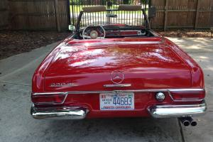 1965 Mercedes-benz 230sl Pagoda W113 Mercedes sl230, sl250, sl280 manual sl190 Photo