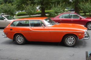 Volvo 1800 ES 1973 Concours show car Orange/ Black 4spd O/D B20 A/C Restored MD