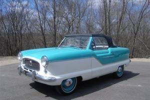 1958 Green Nash Metropolitan
