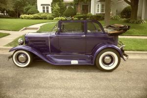 1931 Ford A-400 Convertible Sedan - RARE - Show Winner - Streetrod Roadster