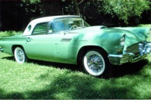 1957 Ford Thunderbird, 0 Miles Since Frame Off Restore in 2002, Great condition!