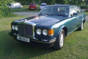 1992 BENTLEY EIGHT AUTO TURQUISE GREEN MET STUNNING.-PART OF PRIVATE COLLECTIO