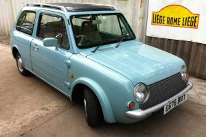 NISSAN PAO - SHEER GENIUS RETRO CLASSIC MICRO CAR - RARE IN U.K MICRA BASED
