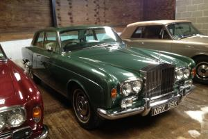 ROLLS ROYCE CORNICHE COUPE. LOVELY CAR WITH OUTSTANDING HISTORY AND PROVENANCE