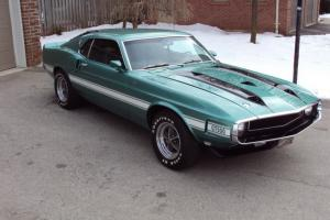 1970 SHELBY GT500  RESTORED  52K MILES  NO RESERVE AUCTION Photo