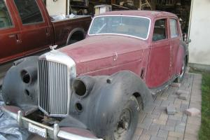 1952 Bentley R Type Base 4.6L  restoration project