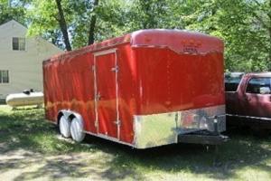 1928 dodge bros sedan...with enclosed trailer