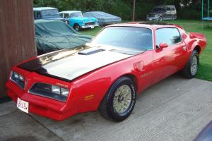 1978 PONTIAC TRANS-AM 6.6/V8 AUTO T-TOP (NEEDS WORK)