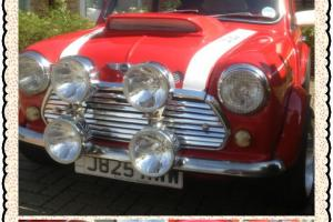 MINI 1275 GT MODIFIED SUPERCHARGED(ONLY 1 IN UK) SHOW CAR WINNER NO RESERVE  Photo