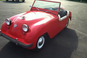 Vintage Micro 1952 Crosley Super Sport Microcar Antique