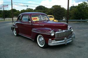 1948 MERCURY COUPE , 2DR ,STREET ROD,  RESTO ROD , COLD A/C GREAT DRIVER