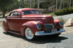 custom street rod coupe mercury hot rod pre war