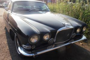 1966 JAGUAR MK 10 BLACK WITH RED LEATHER INTERIOR IMPORTED FROM CALIFORNIA - LHD