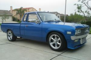 Datsun Nissan 620 King Cab 1976 Show Pick Up Truck Restored Turbo KA24DE 5 Spd