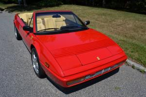 1988 Ferrari Mondial  Convertible with 4362 original miles.